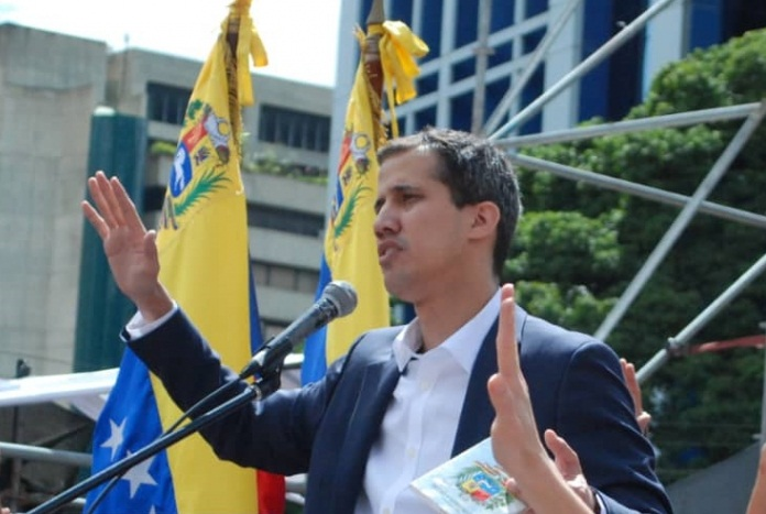 Venezuela top court prohibits Guaido from leaving or accessing banks