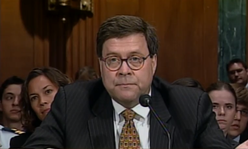 AG nominee Barr undergoes Senate confirmation hearing