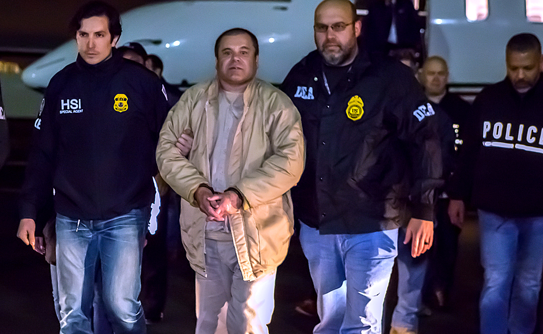 Mexican drug kingpin El Chapo sentenced to life in US prison