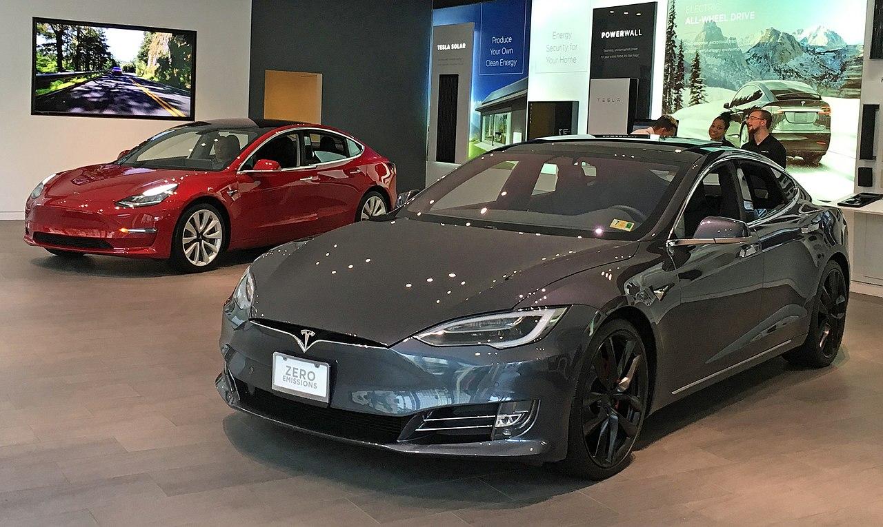 Tesla Model Odel 3 Exhibited At In Washington D C