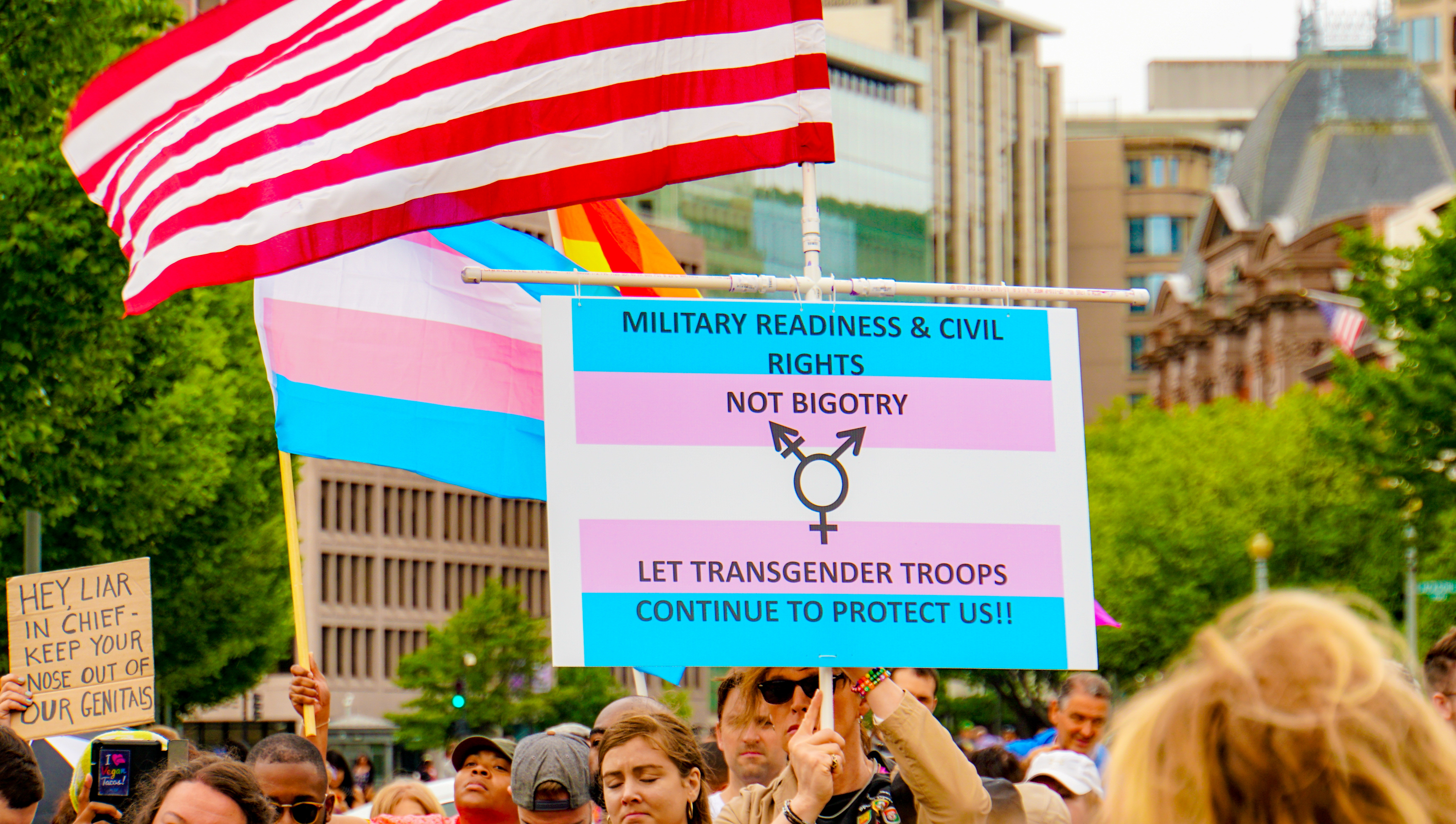 Federal judge allows lawsuit challenging transgender military ban to move forward