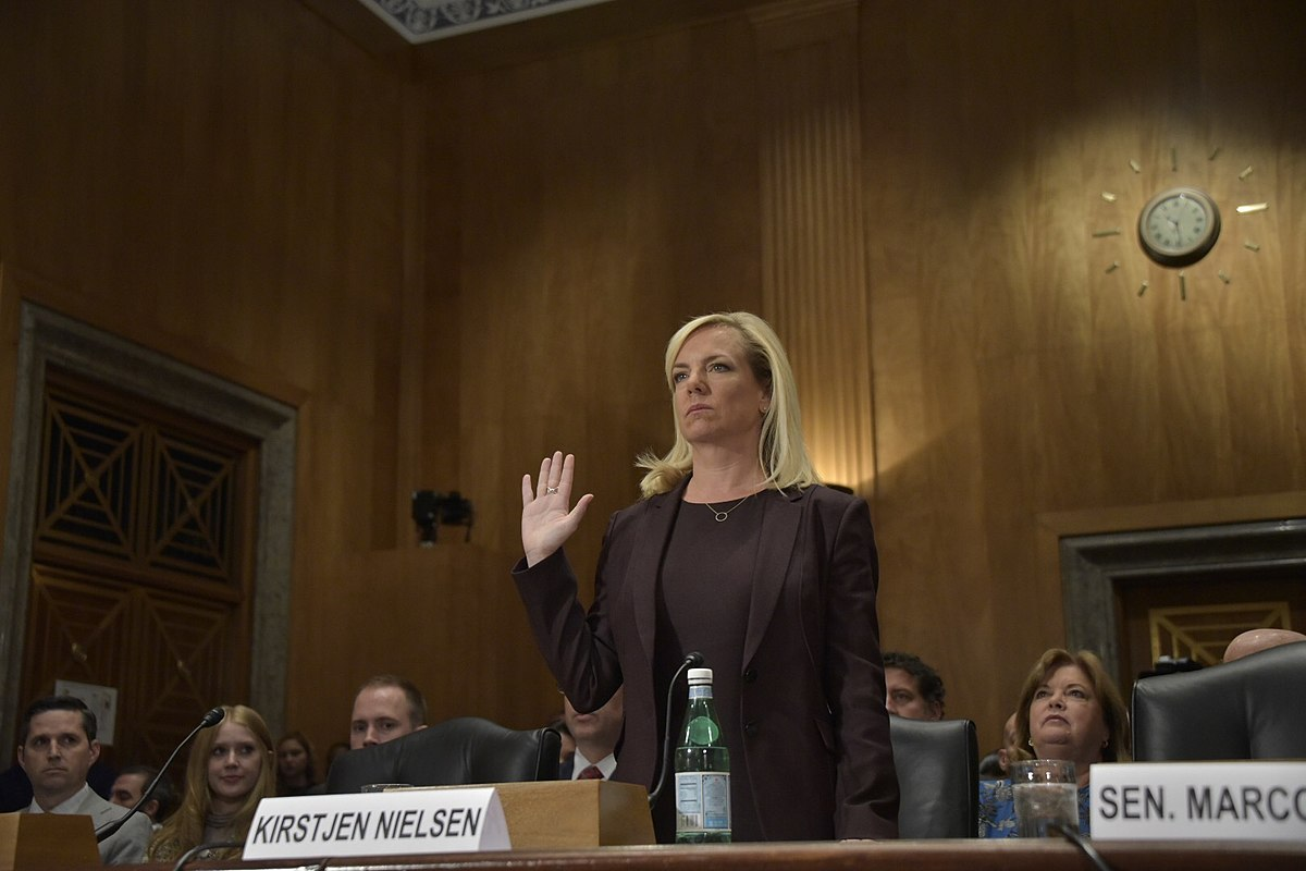 Kirstjen Nielsen resigns as Secretary of Homeland Security