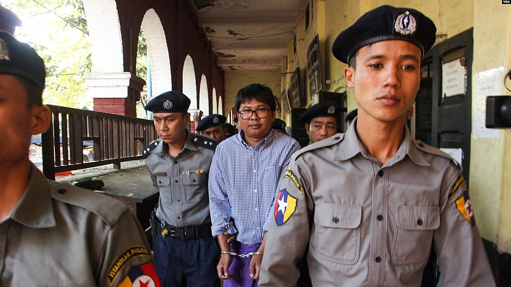 Myanmar high court upholds 7-year sentences of two Reuters journalists