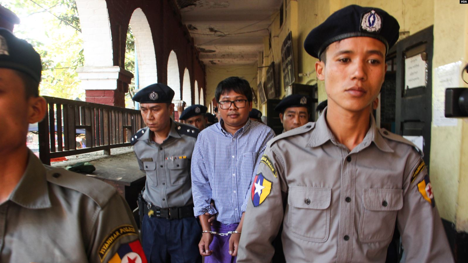 Myanmar: Reuters journalists among prisoners granted amnesty