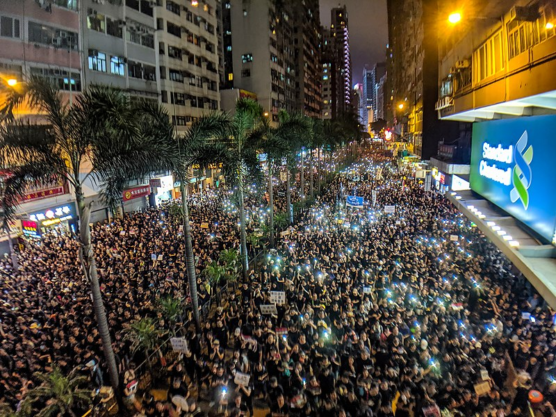 US House overwhelmingly passes bills in support of Hong Kong protesters