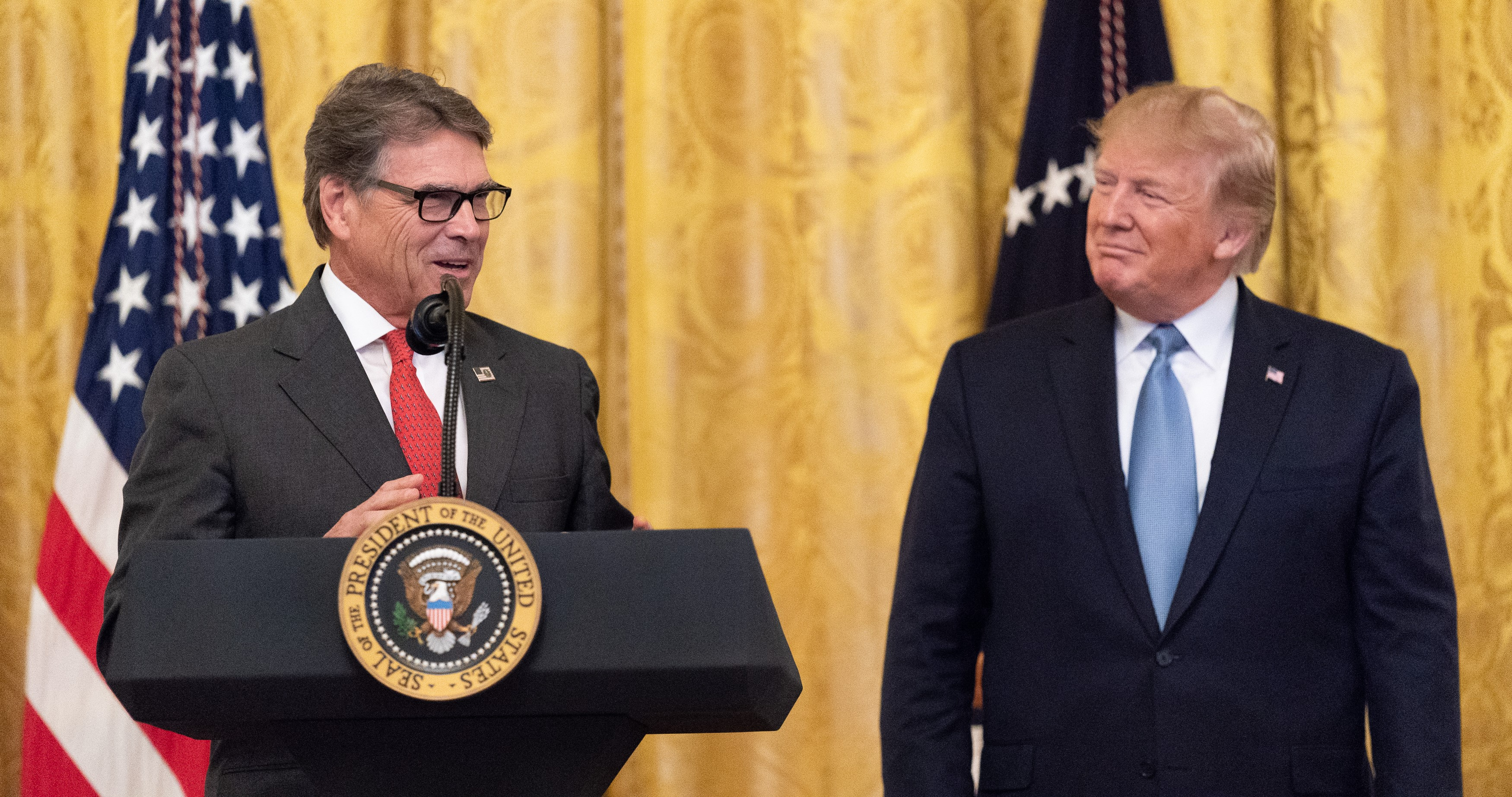 Energy Secretary Rick Perry, Giuliani associates subpoenaed in impeachment investigation