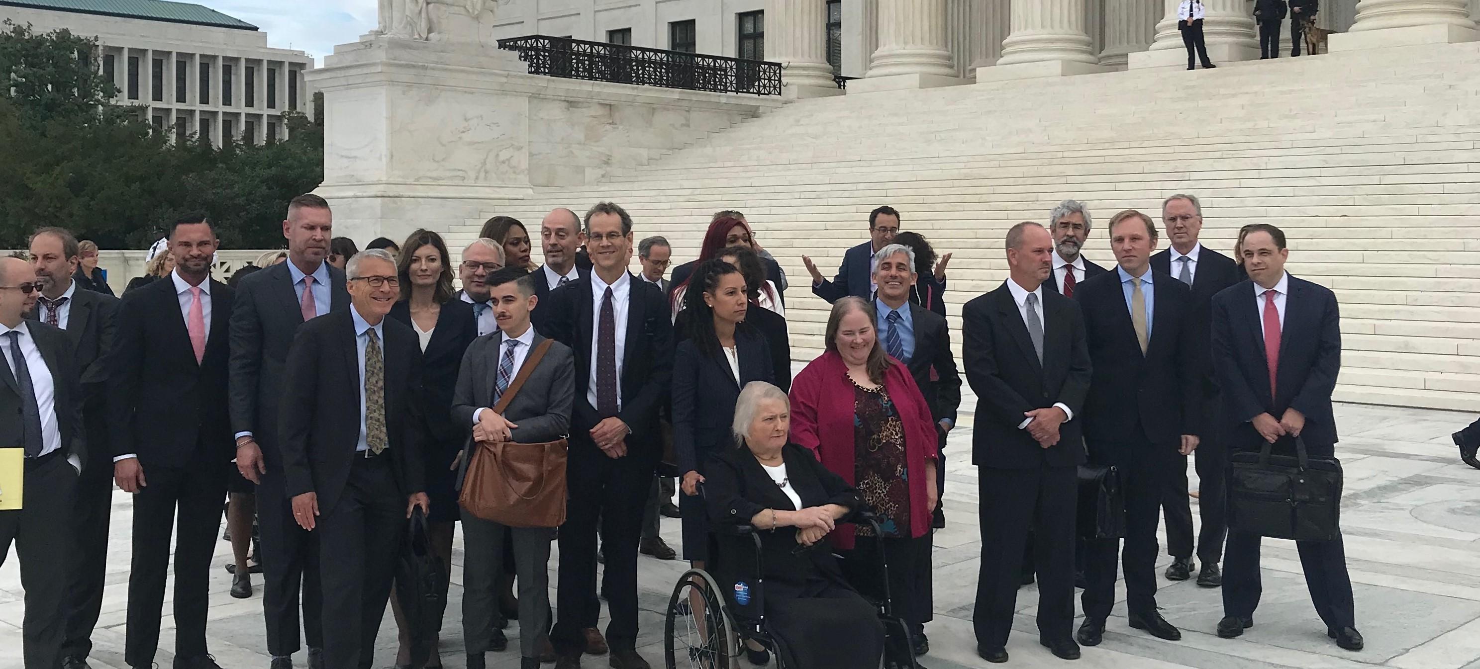 Supreme Court hears arguments in landmark LGBTQ+ employment cases