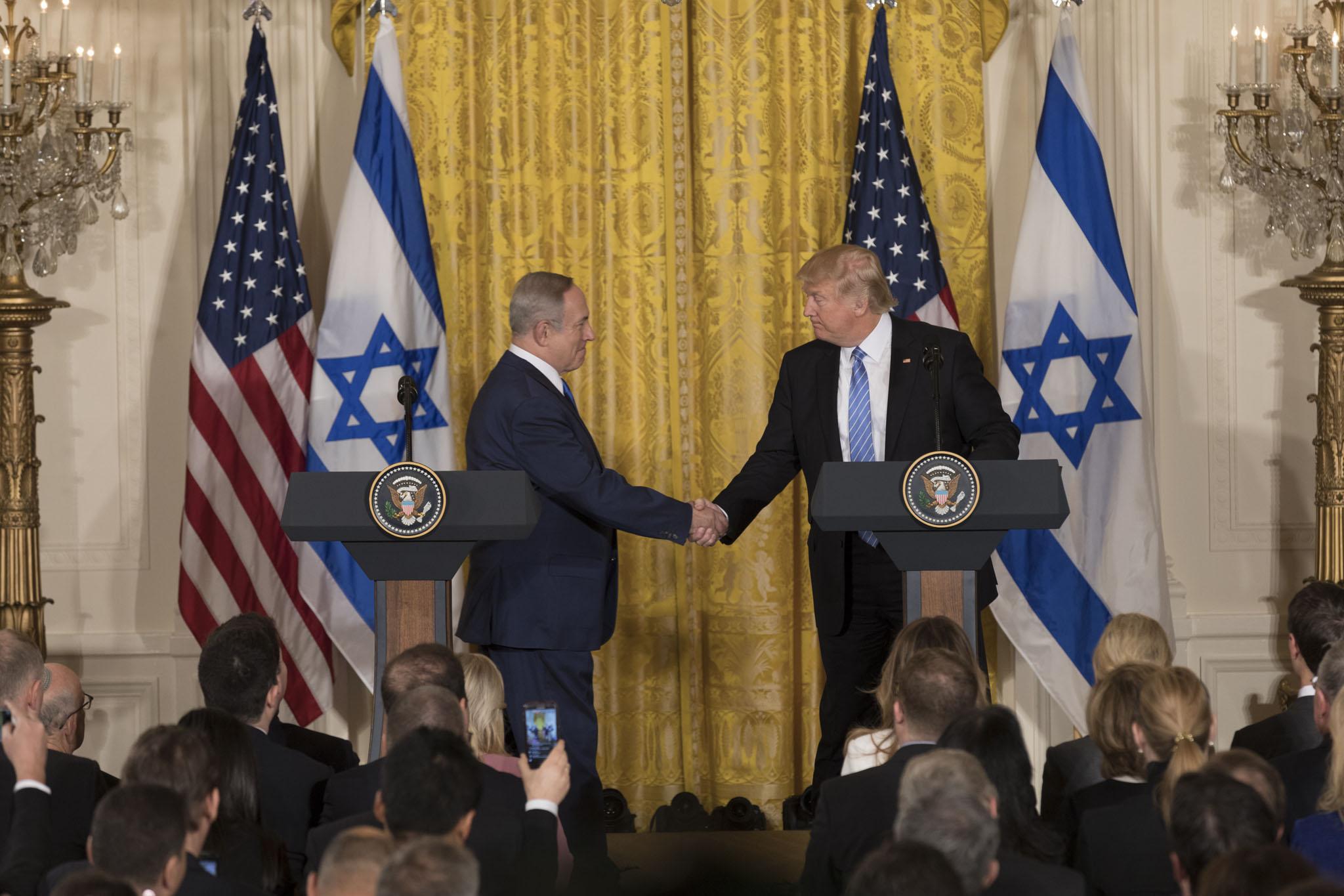 Trump and Netanyahu reveal Israel-Palestine peace plan