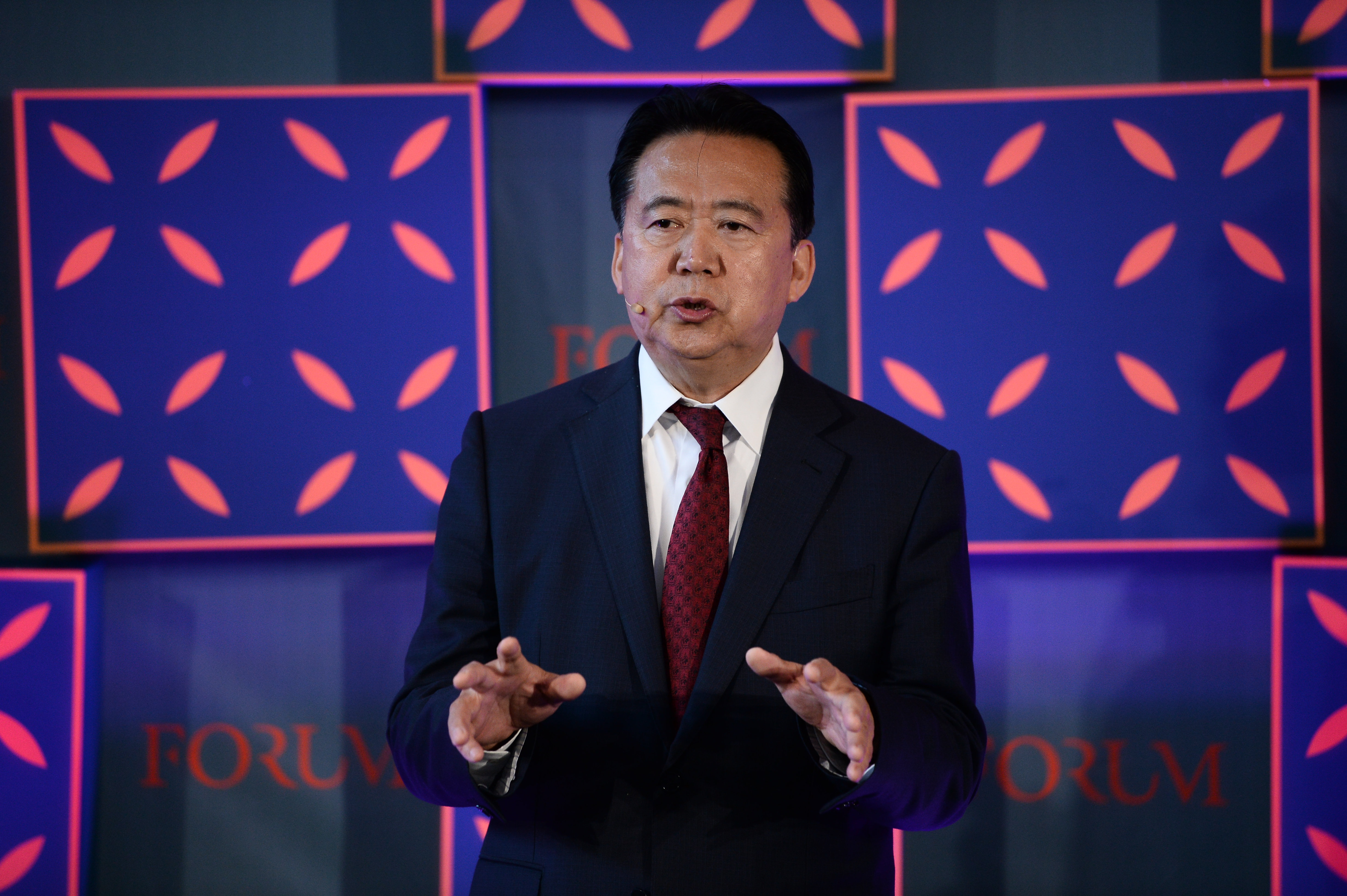 China court sentences former Interpol president Meng Hongwei to prison for bribery