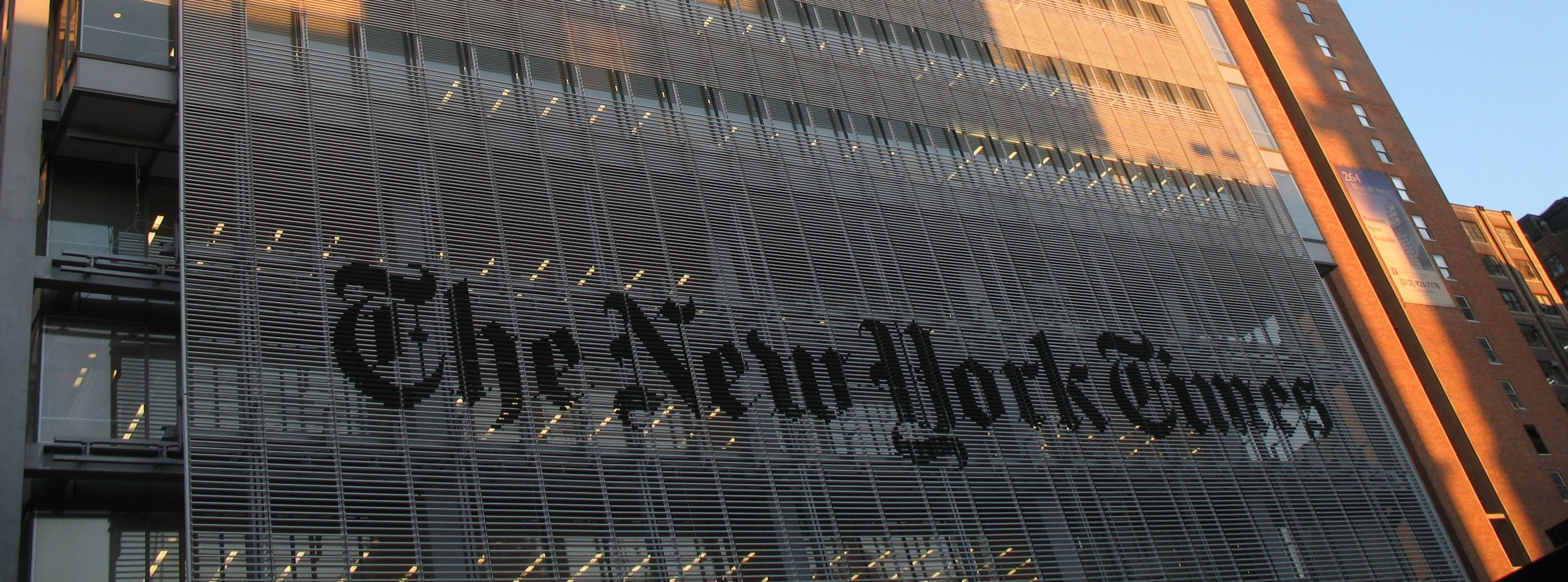 Trump re-election campaign files libel suit against New York Times