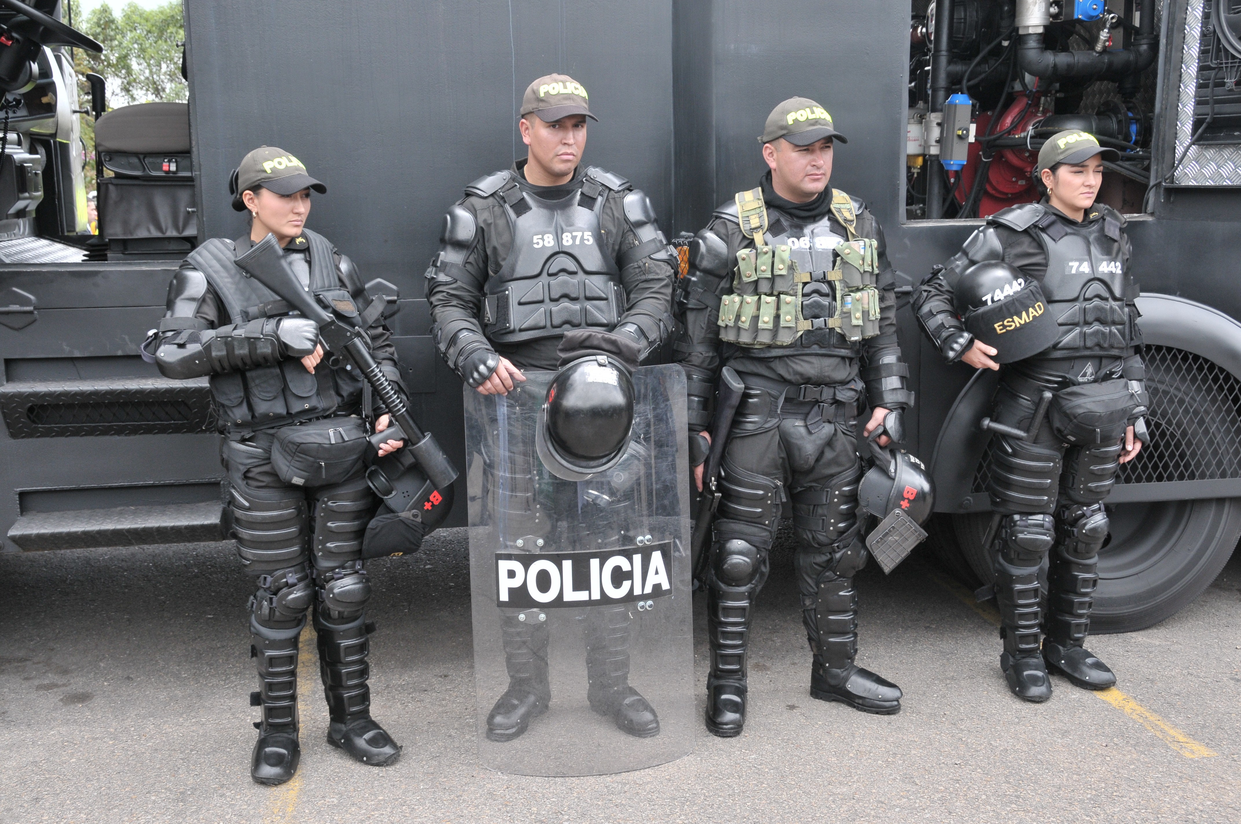 HRW: Colombia National Police abused protesters