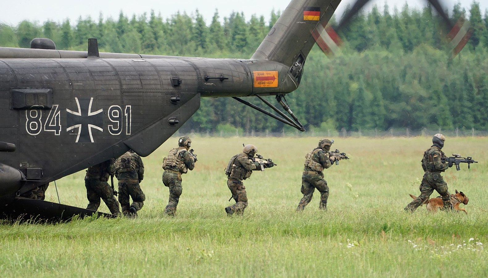Germany defense minister orders partial dissolution of elite KSK commando unit