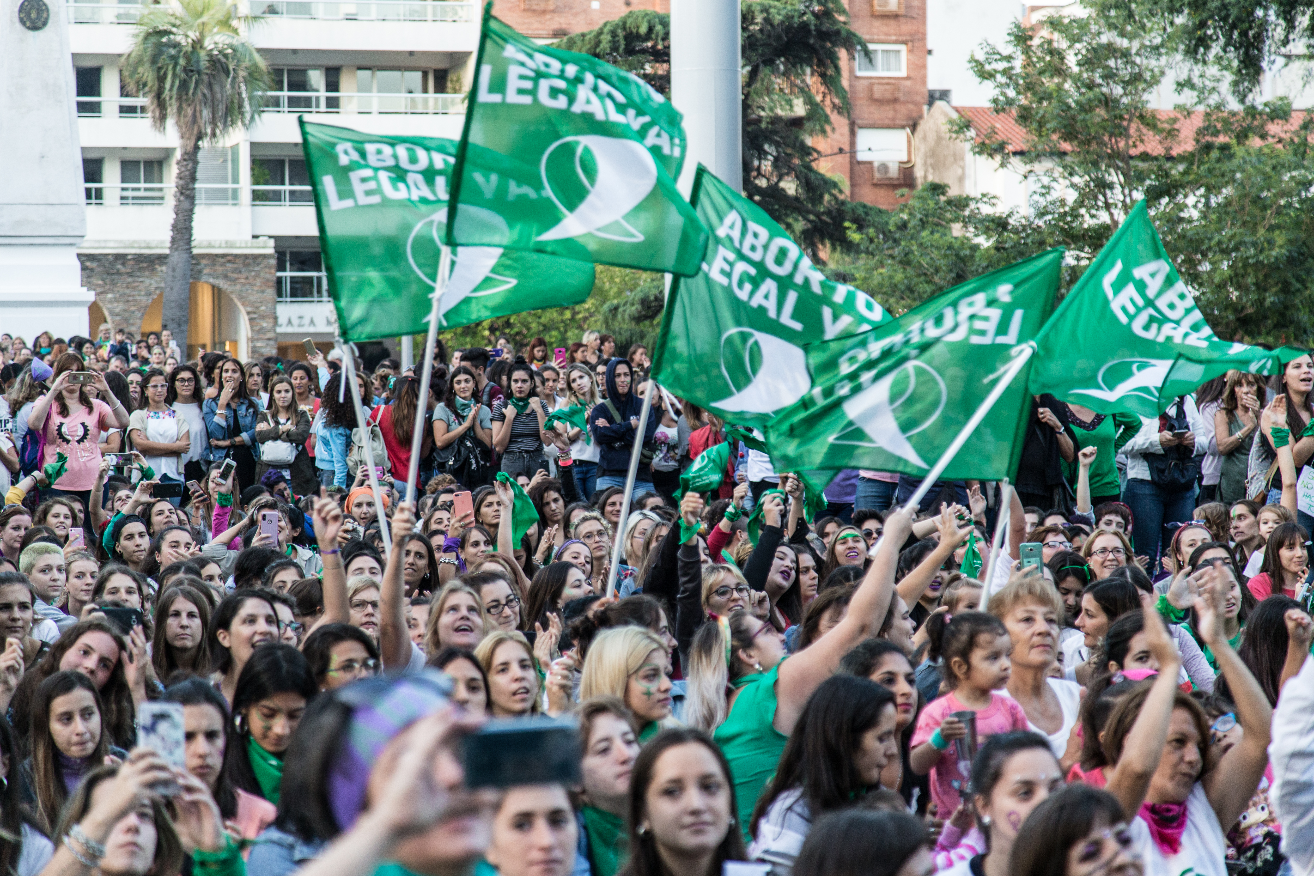 Argentina law legalizing abortion comes into force