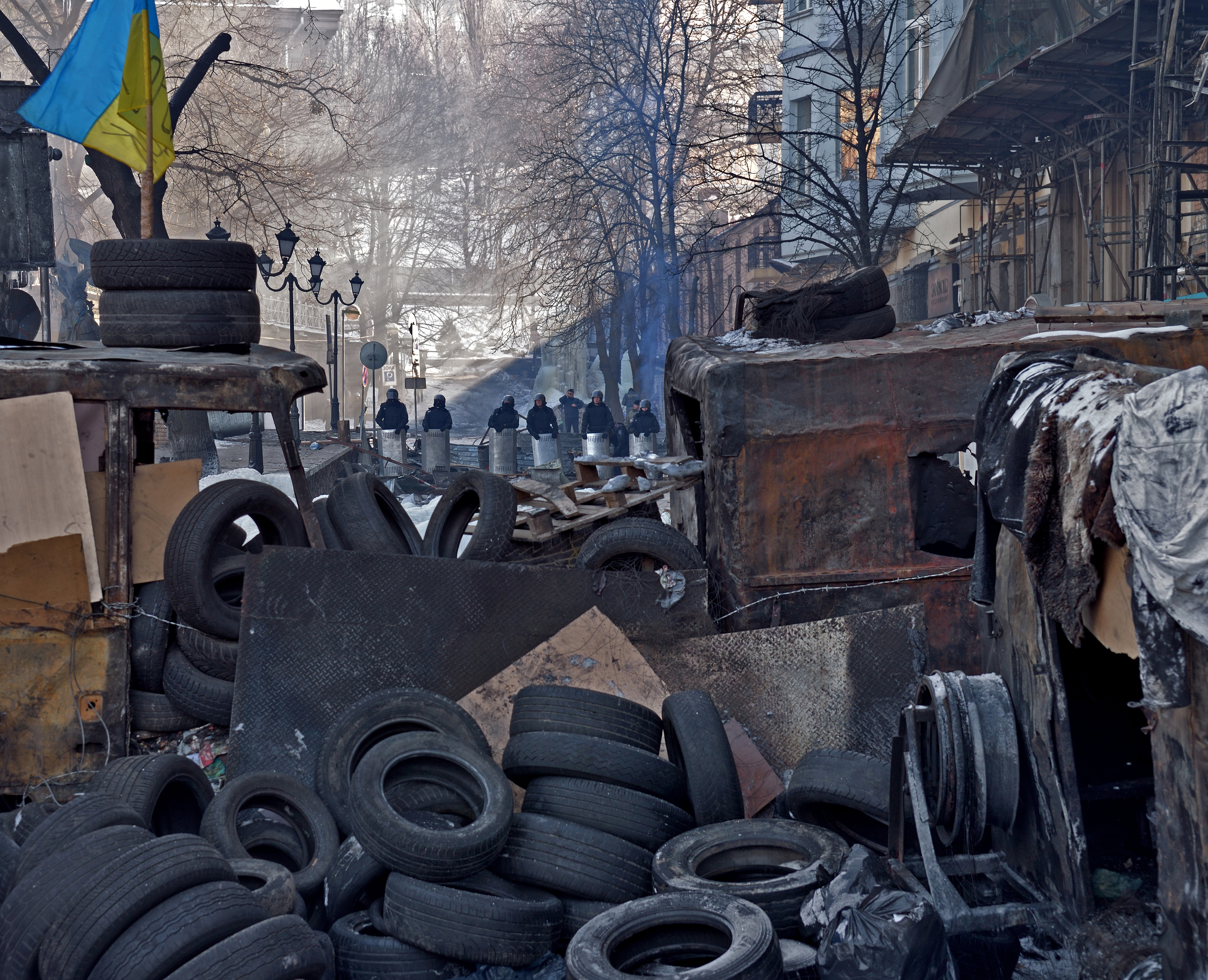 Europe court confirms multiple rights violations by police during 2013 Ukraine protests