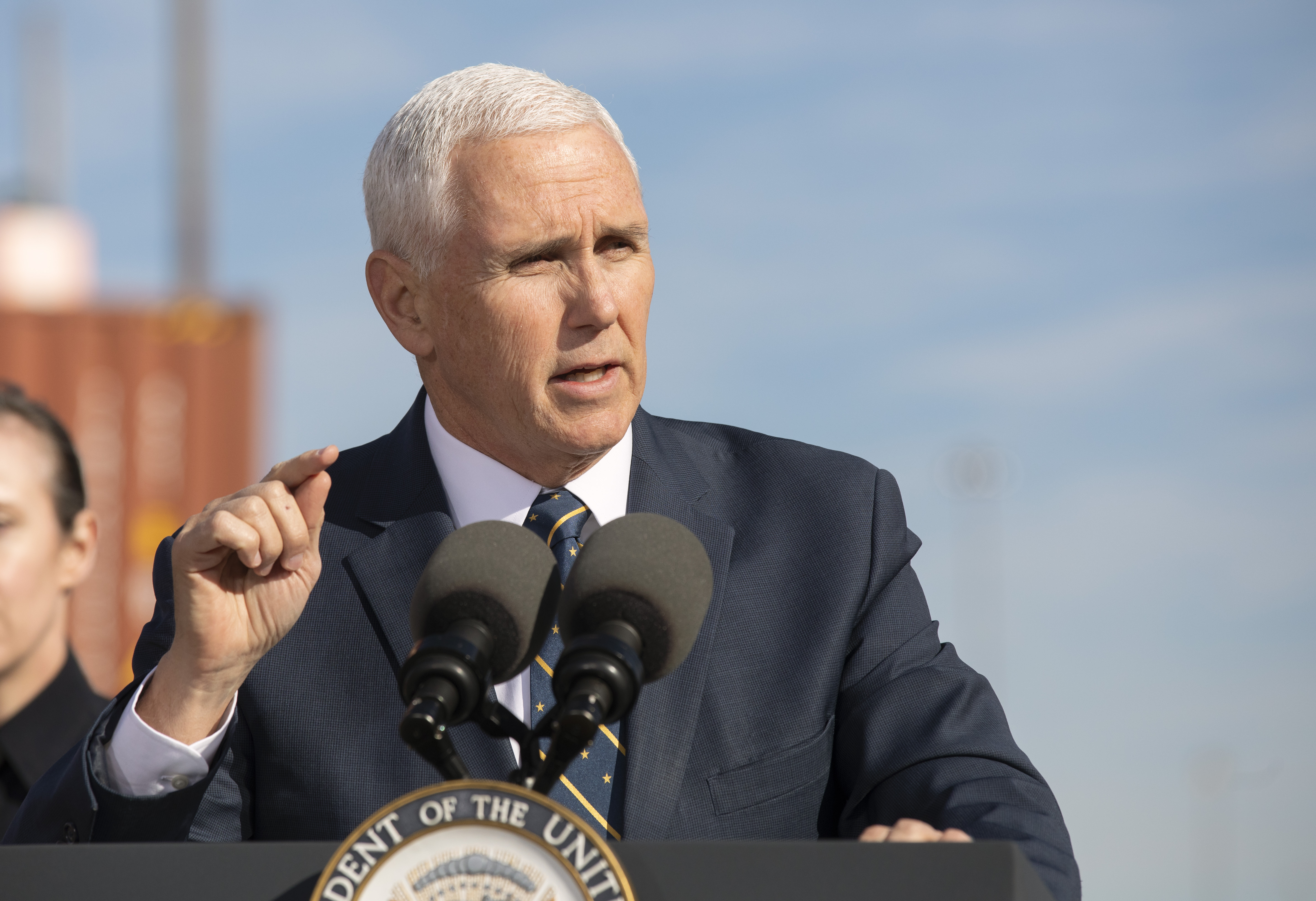 Law firms call for Vice President Pence to invoke 25th Amendment, remove President Trump