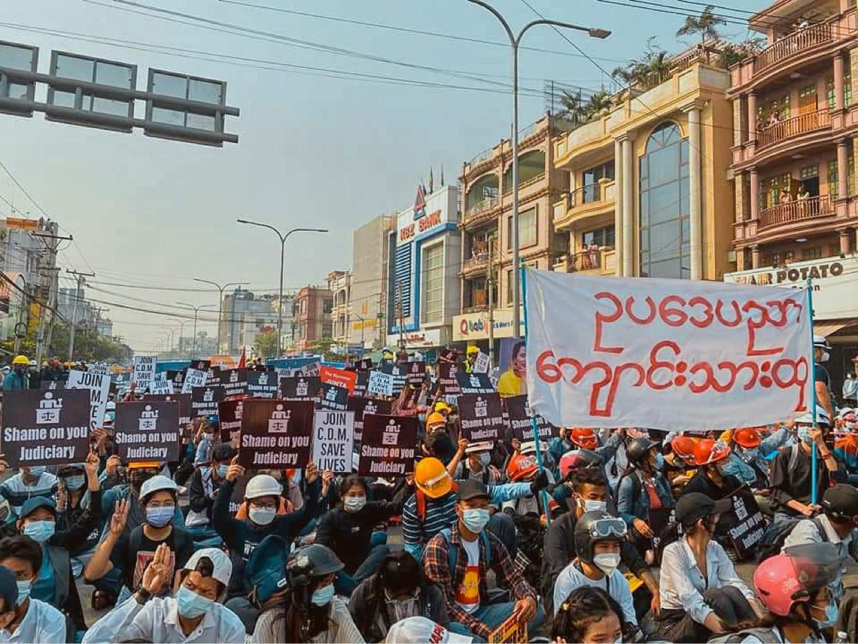 JURIST law student staffers launch worldwide law student petition supporting Myanmar law students defending democracy