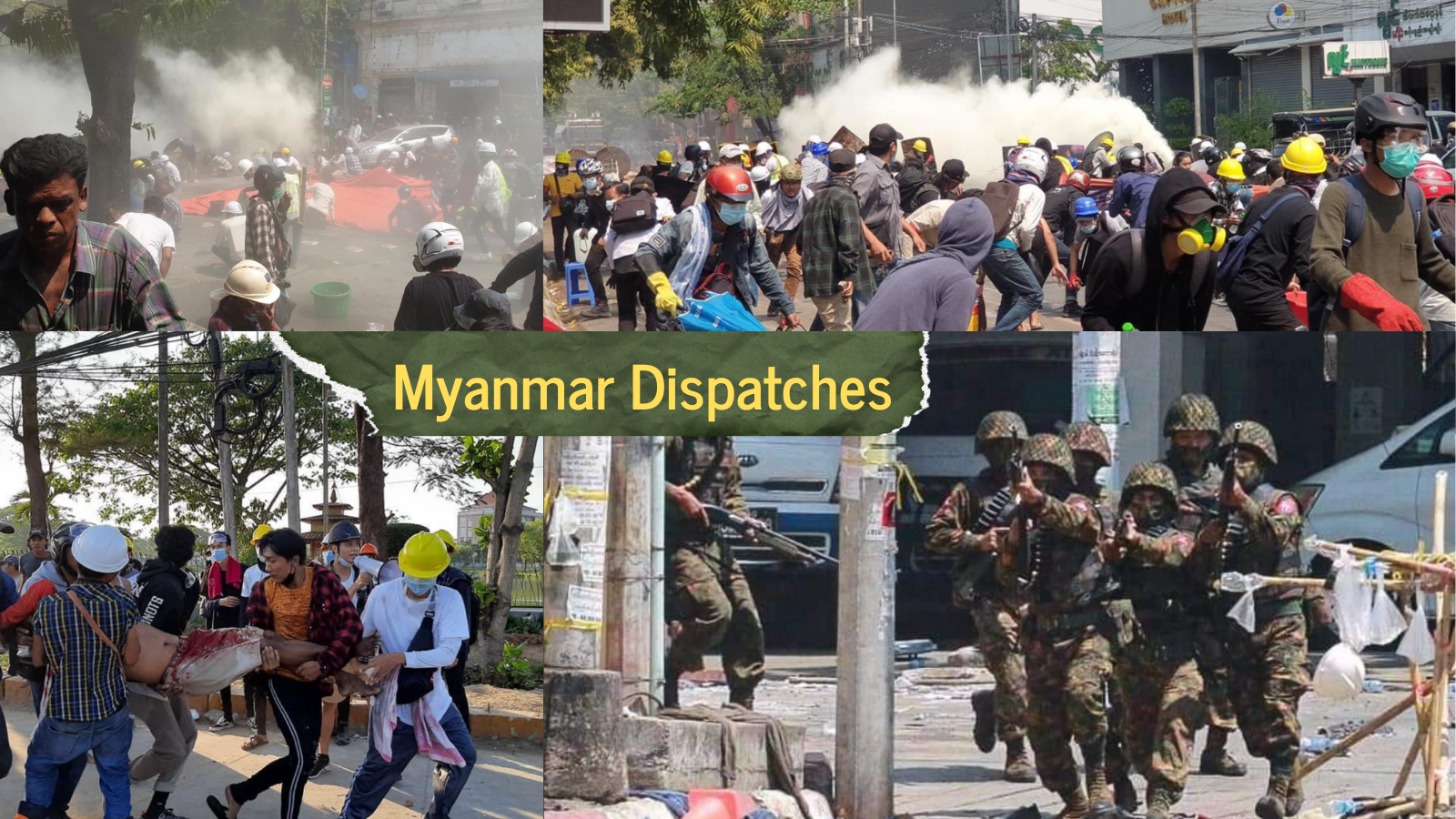 Myanmar: citizens demonstrate and embassies appeal as security forces trap dispersed student protesters in Yangon district