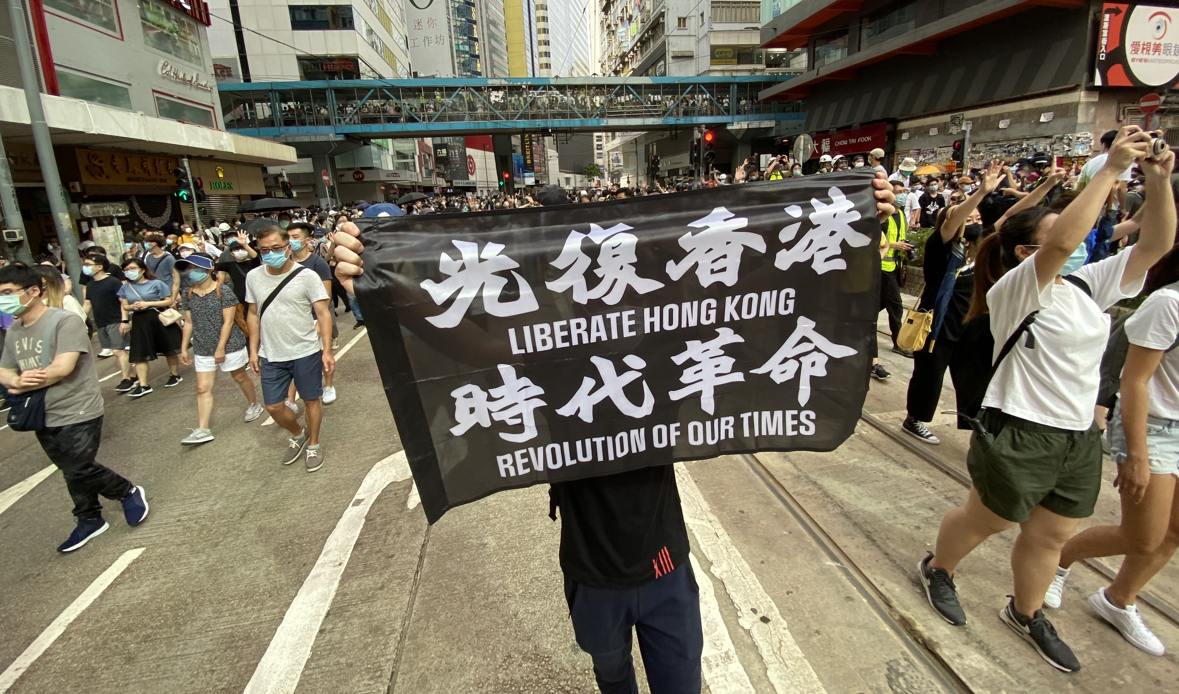 Hong Kong court convicts human rights activist under national security law