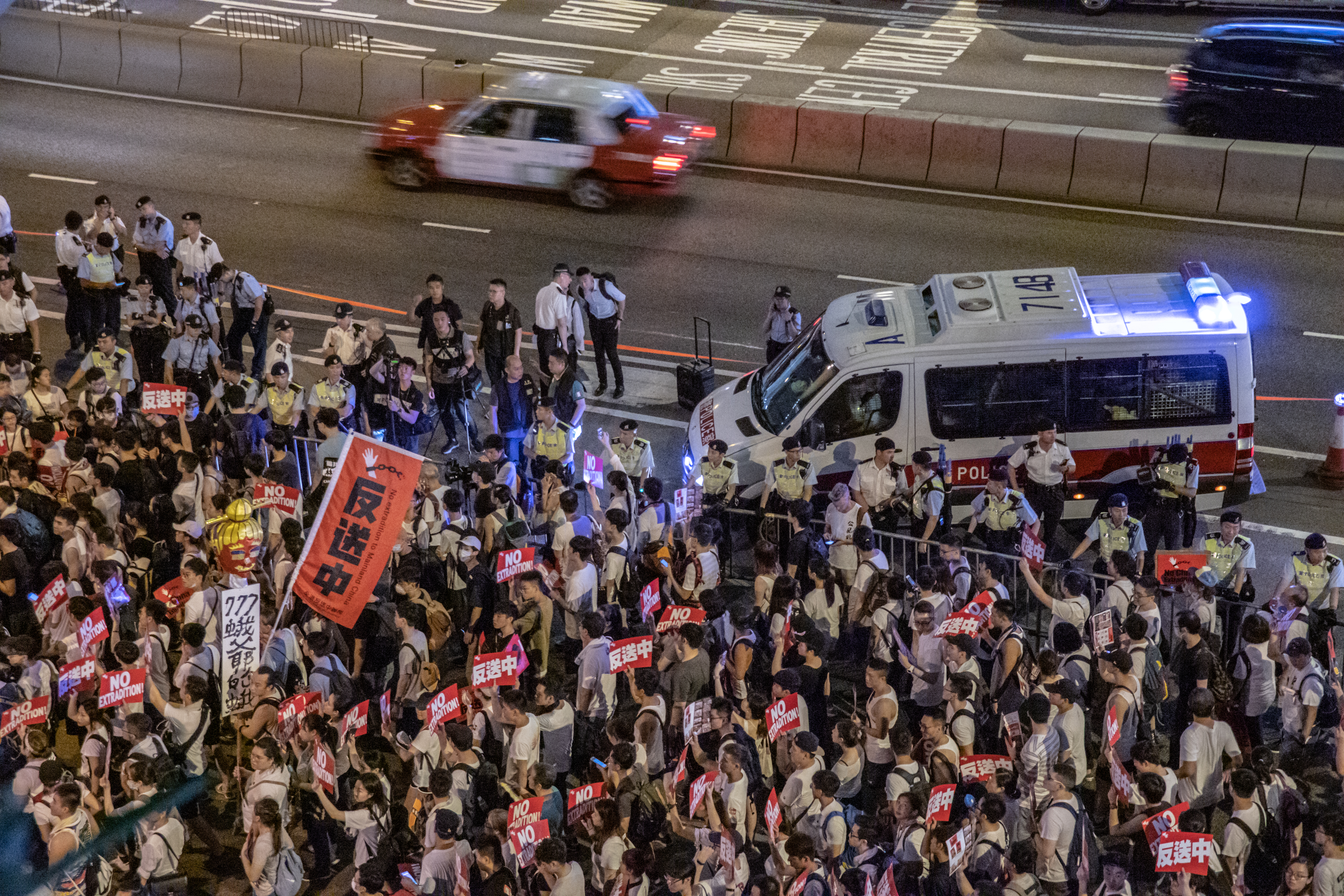 Hong Kong court finds pro-democracy activists guilty of unauthorized assembly
