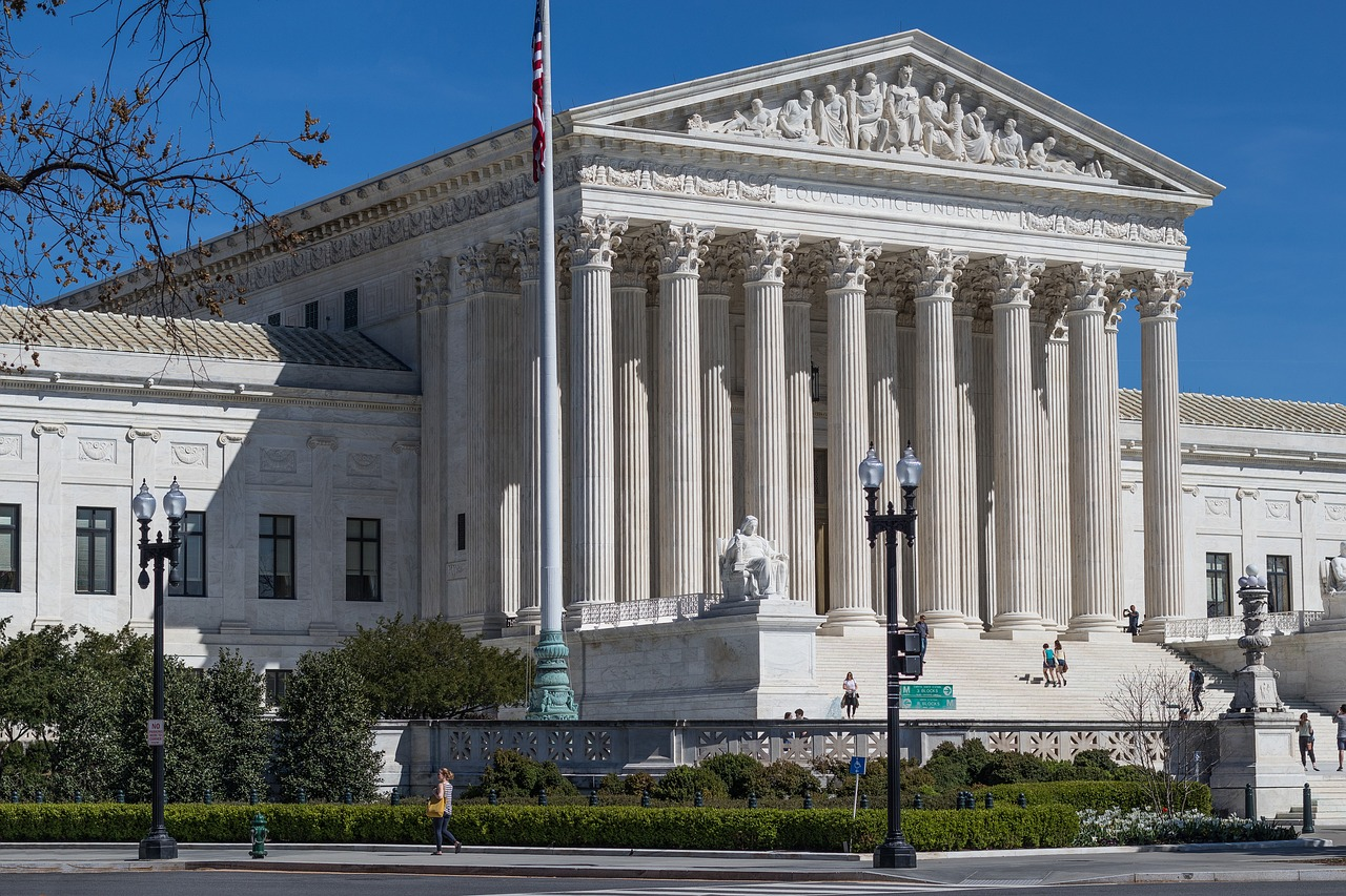 Supreme Court hears oral arguments on pipeline route and regulation of off-campus speech