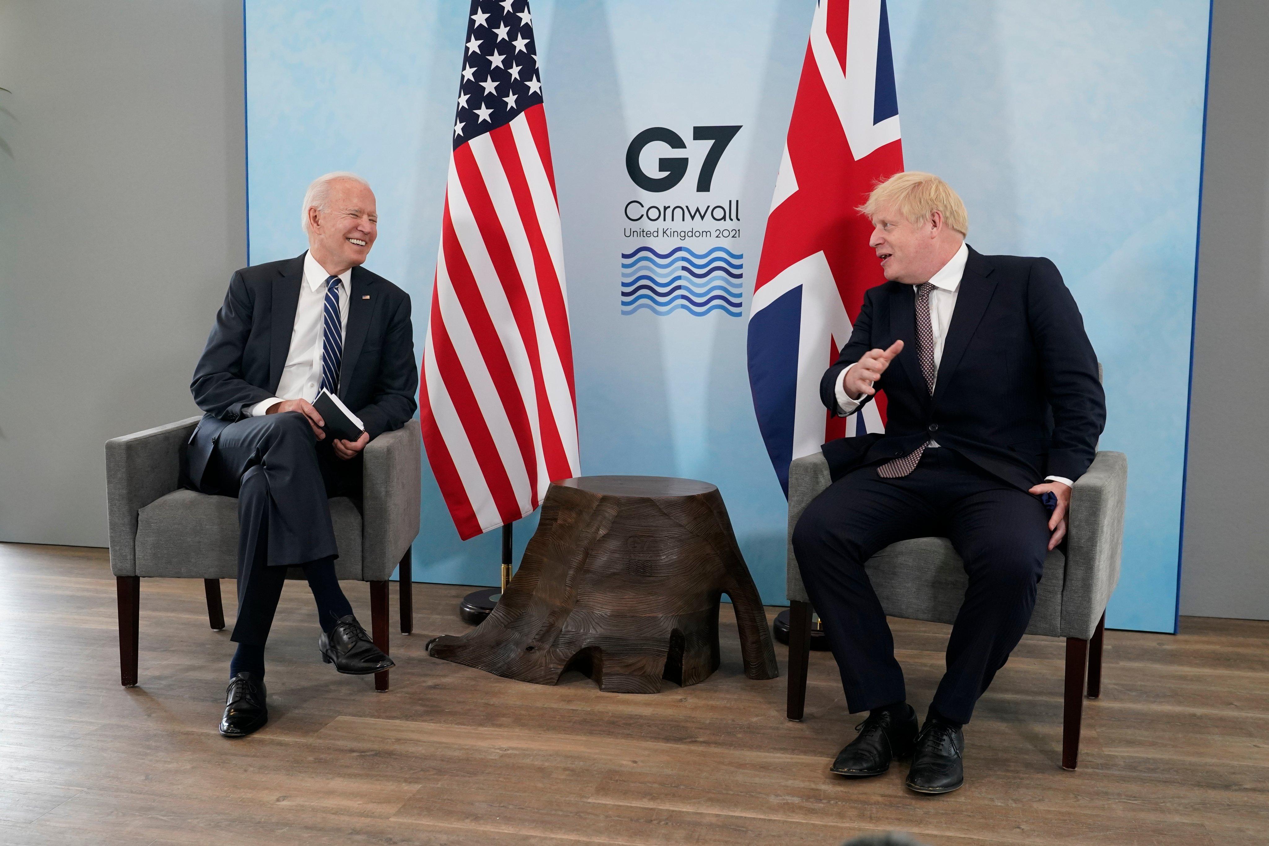 Biden, Johnson sign amended Atlantic Charter at G7 summit