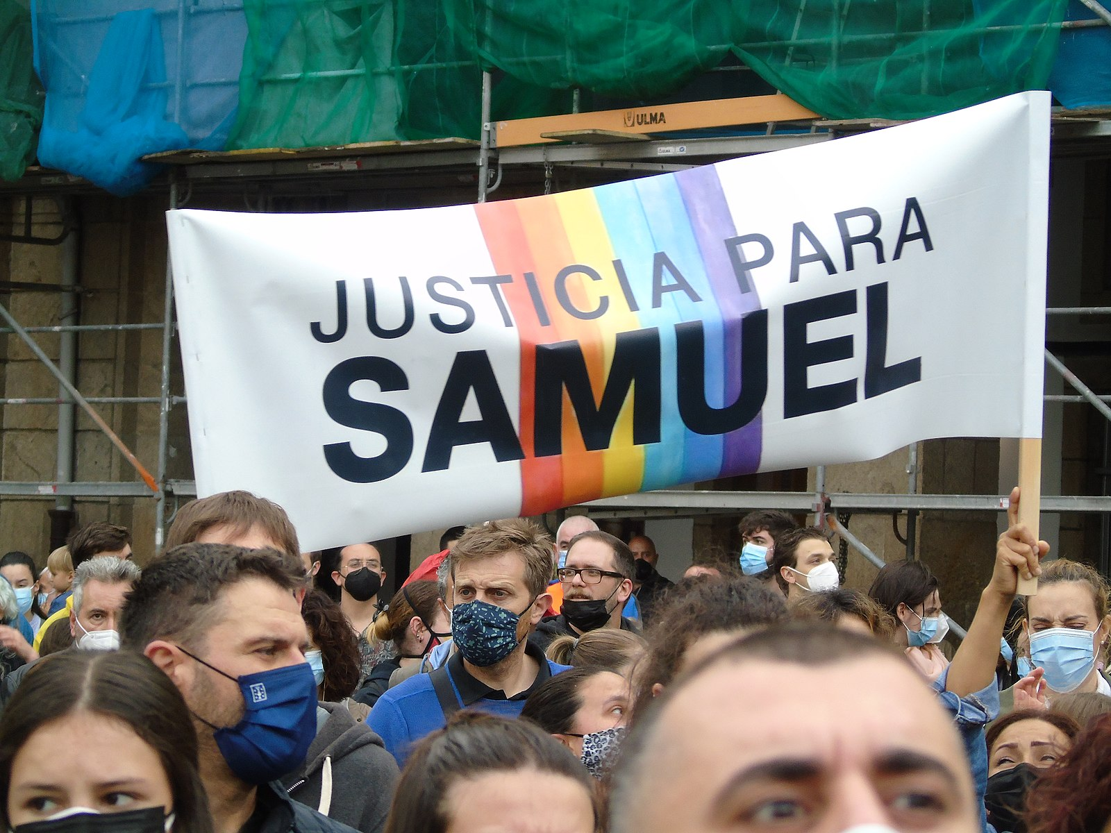 Spain court orders imprisonment of three men for fatal homophobic attack