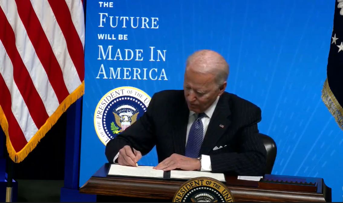Biden proposes 'Buy American' rule to support US workers, manufacturing