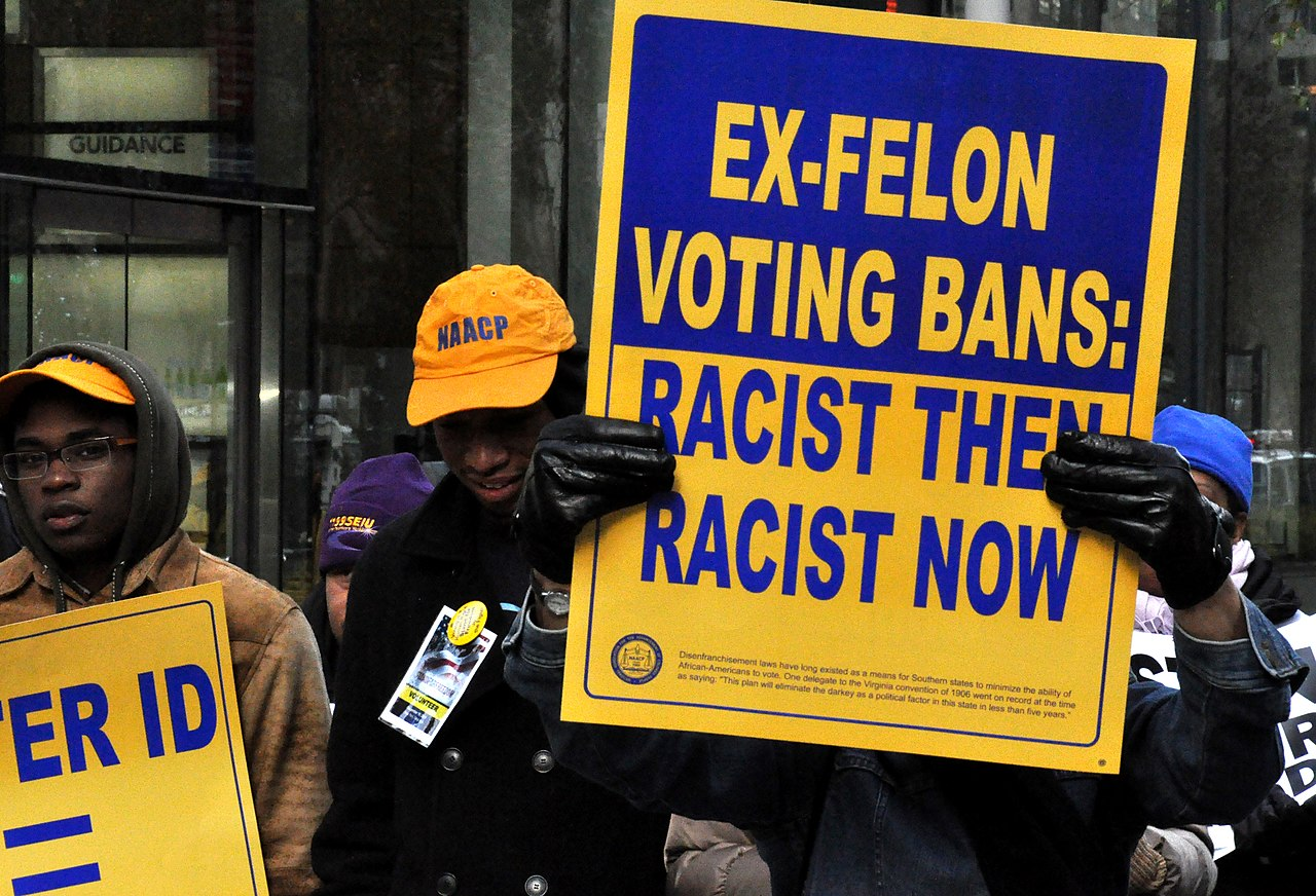North Carolina appeals court temporarily enjoins order expanding felon voting rights